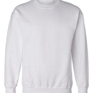 Textile μπλούζα φούτερ άσπρη
